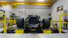 Ford GT: al banco per la prova delle sospensioni