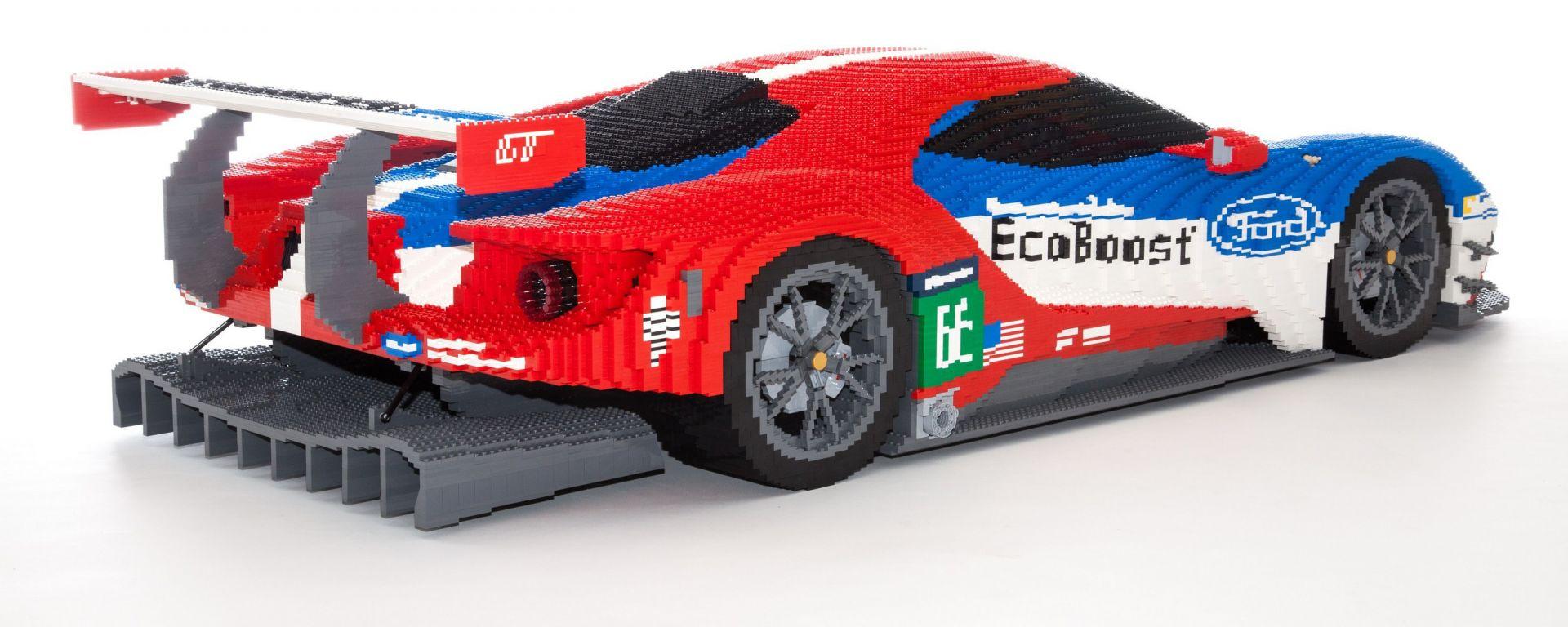 Ford GT: il modellino Lego che verrà esposto alla 24 Ore di Le Mans 2016