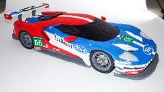 Ford GT: il modellino Lego della 24 Ore di Le Mans è in scala 1:3