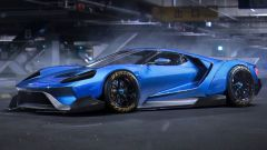 Ford GT il rendering del 2015