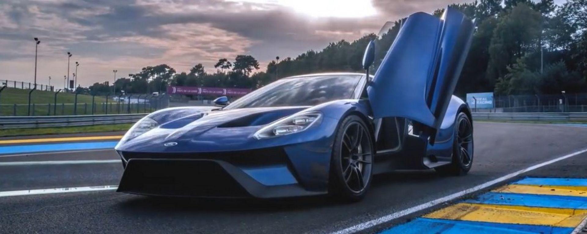 Ford GT: la versione stradale