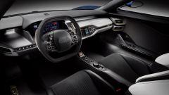 Ford GT: l'interno