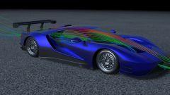 Ford GT: lo studio dei flussi aerodinamici