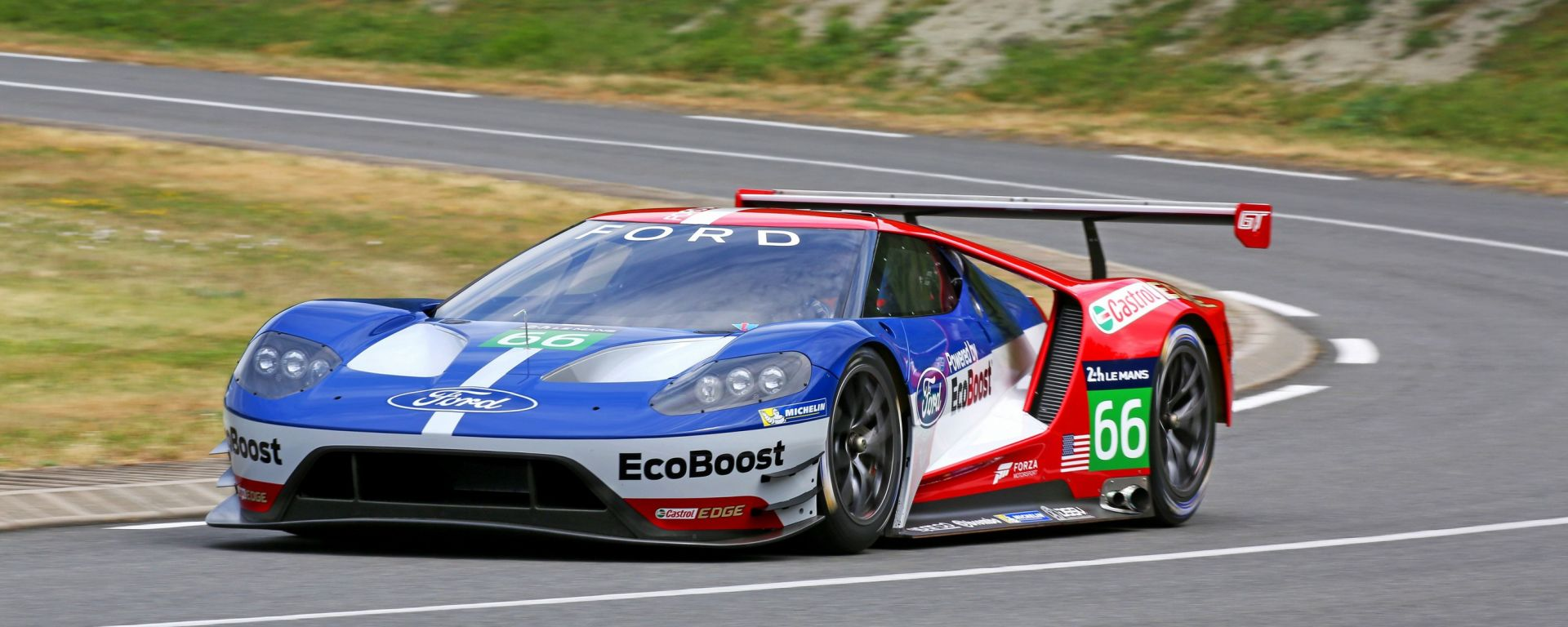 Ford GT racecar, arrivederci a Le Mans