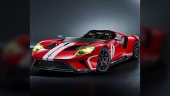 Ford GT Speedster: il rendering