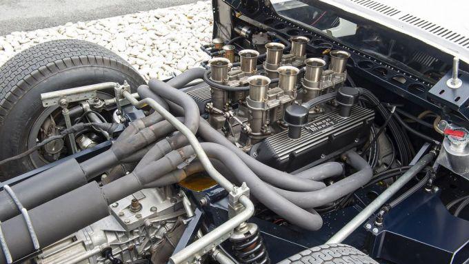 Ford GT40: il motore V8 4,7 litri del prototipo