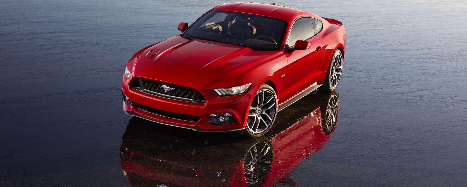 Ford: i prezzi della Mustang