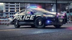 Guida autonoma, Ford brevetta auto della polizia senza agenti a bordo