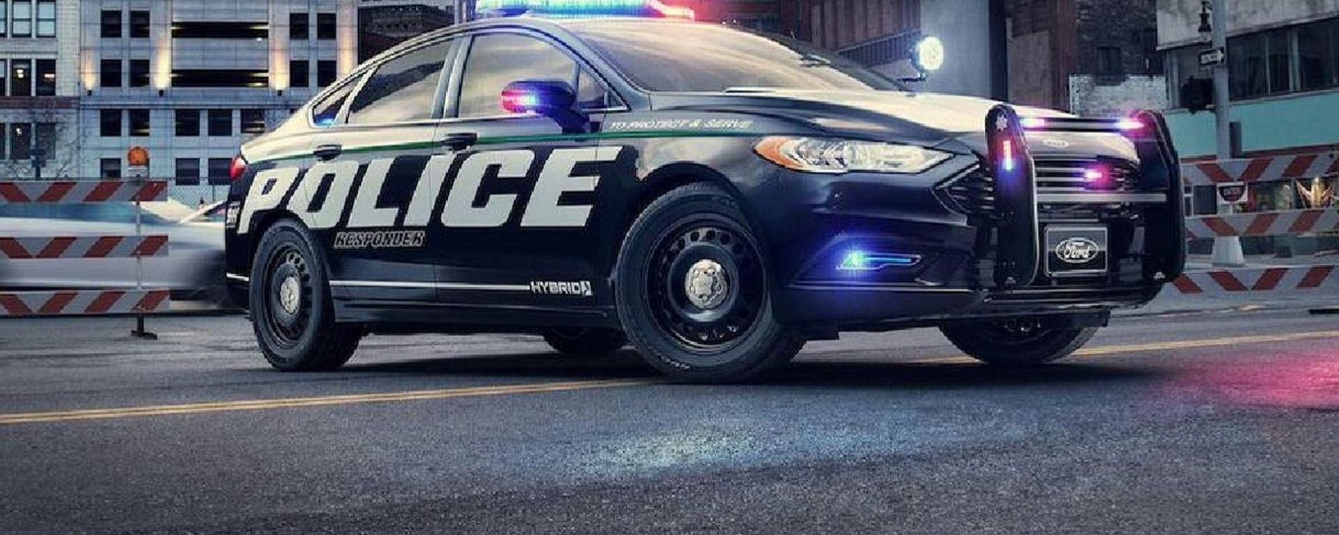 Ford, in arrivo la volante della polizia