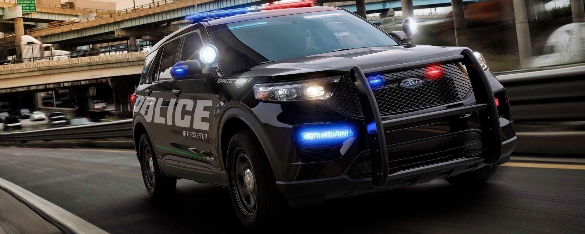 Ford Interceptor Police 2020