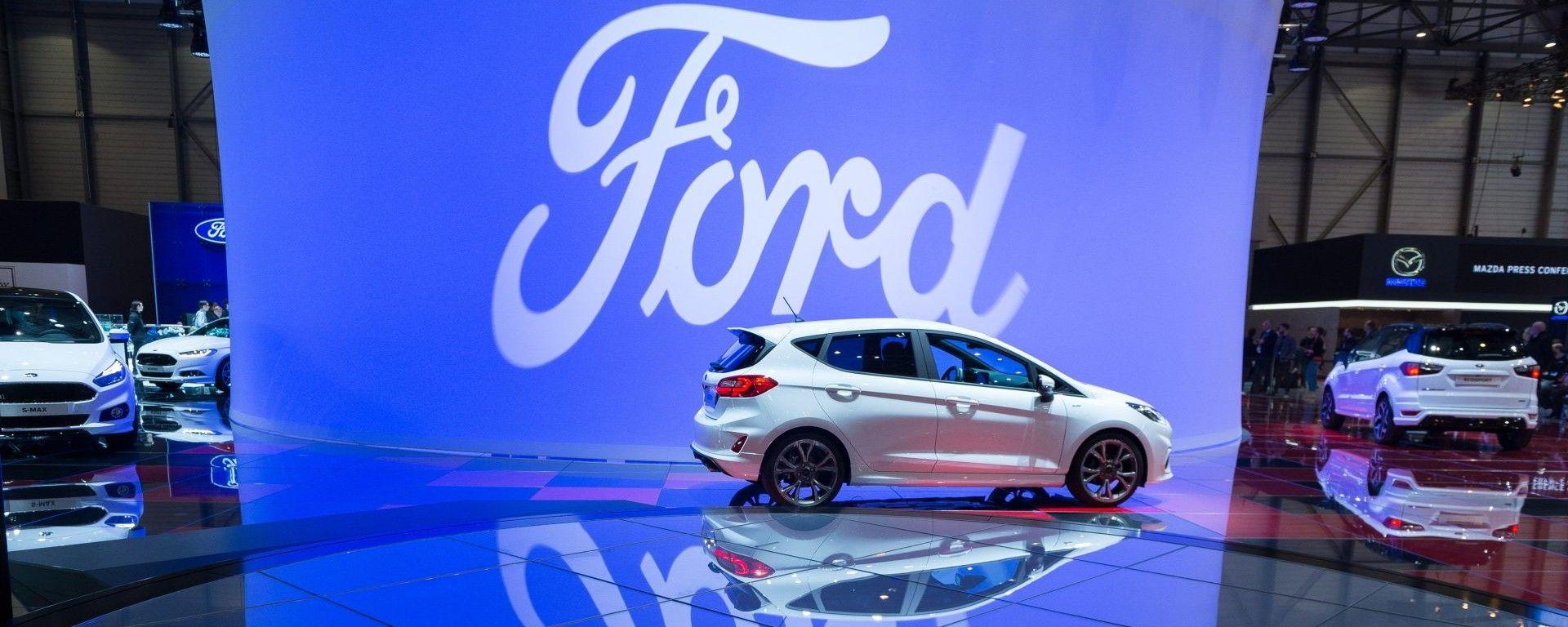 Ford Ka+, live salone di ginevra 2018