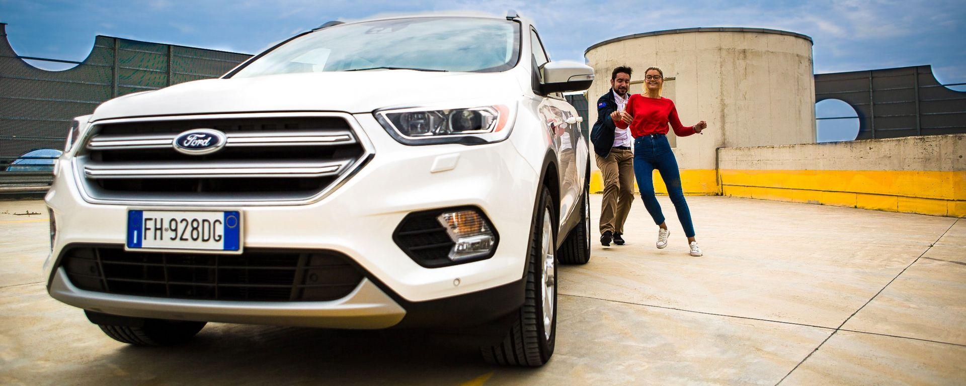 Ford Kuga 2017: uomini e donne a confronto