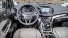 Ford Kuga: all'interno cambiano strumentazione e impianto di infotainment