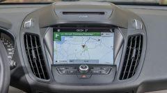Ford Kuga: il monitor touch da 8 pollici del sistema di infotainment Sync 3