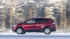 Ford Kuga: lateralmente non si notano grossi cambiamenti