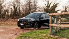 Ford Kuga smartworking: un passaggio in leggero fuoristrada. Il capo è accontentato