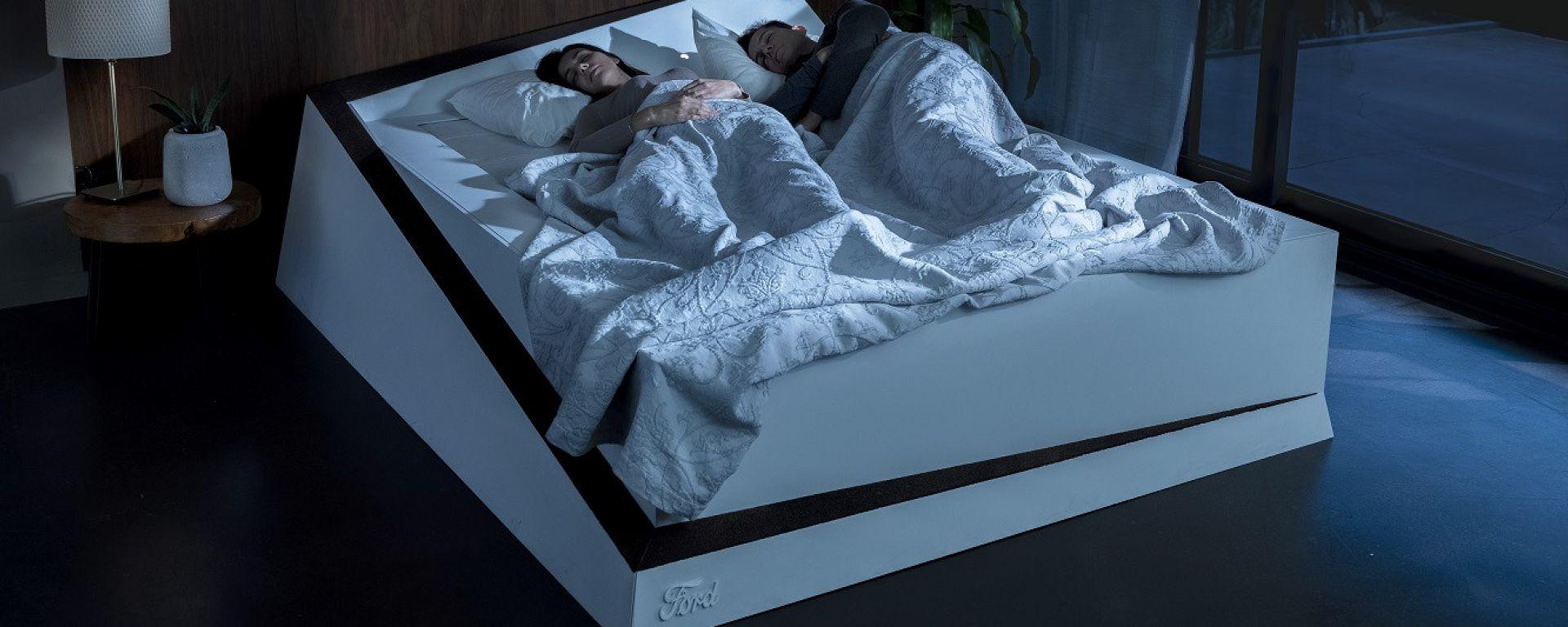 Ford Lane keeping bed, a prova di