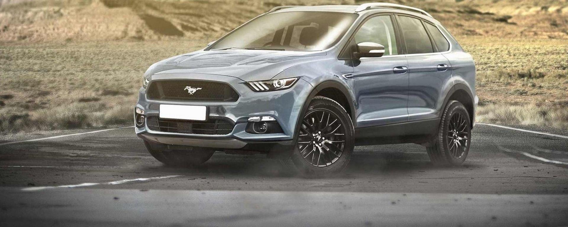 Ford Mach 1 Ev Nel 2020 Una Mustang Crossover A