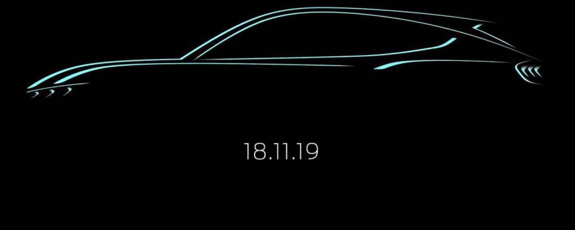 Ford Mach-1: il teaser della presentazione ufficiale