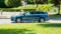 Ford Mondeo 2020 Hybrid Wagon, un momento del test