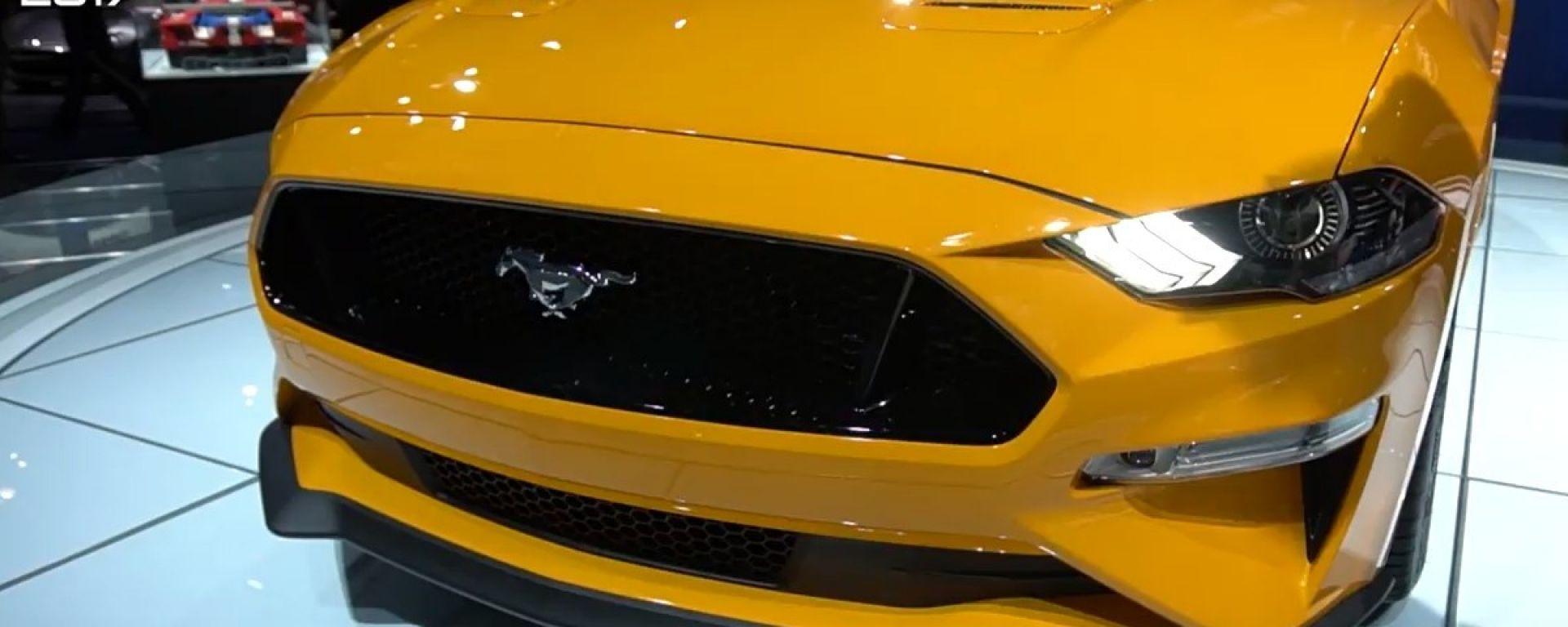Ford Mustang: anche la muscle si aggiorna