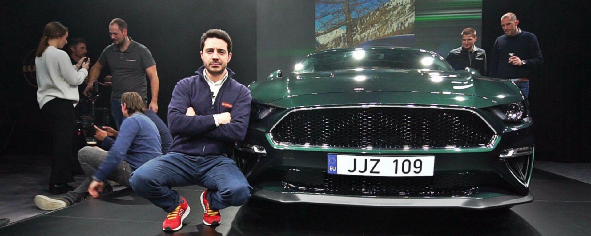 Ford Mustang Bullit: in video dal Salone di Ginevra 2018