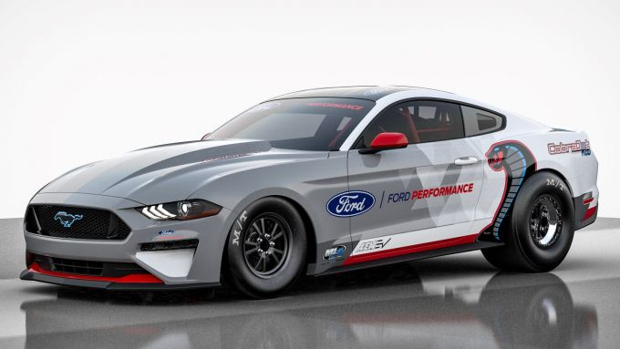 Ford Mustang Cobra Jet 1400 Electric Dragster