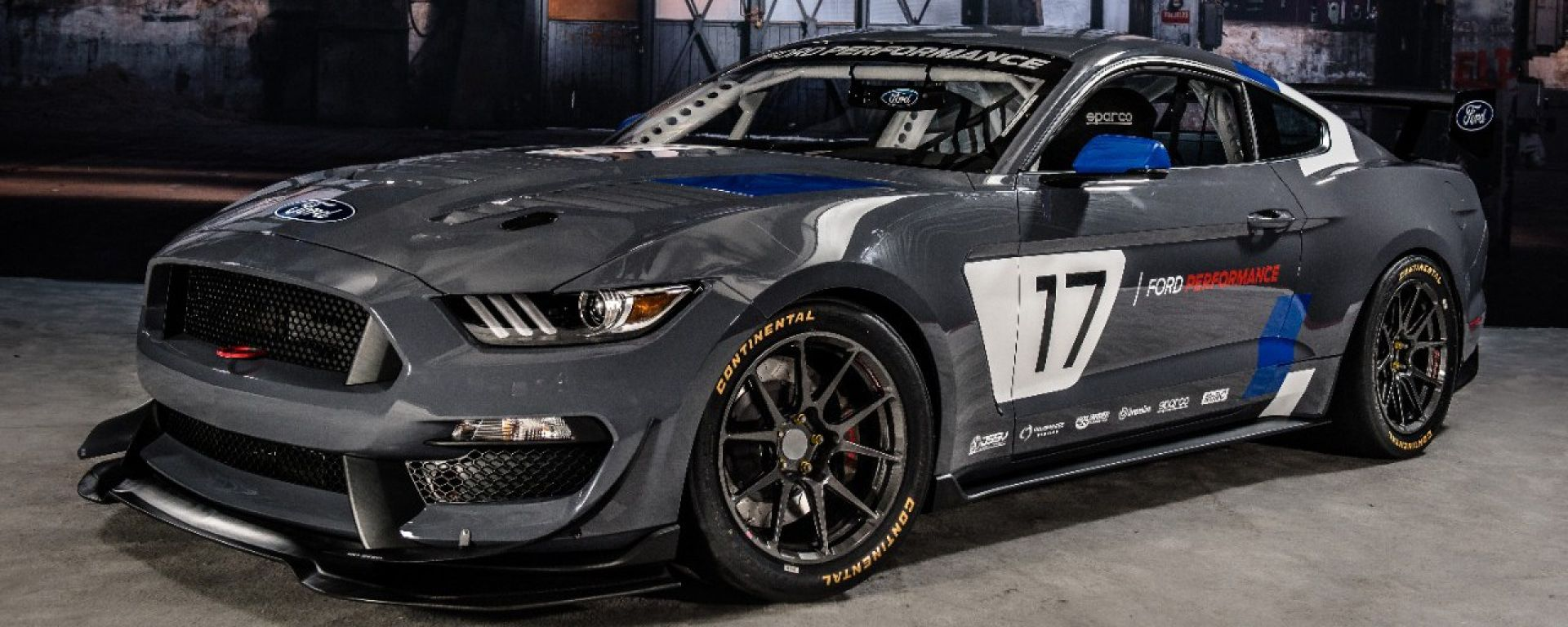 Ford Mustang GT4, debutto al SEMA 2016