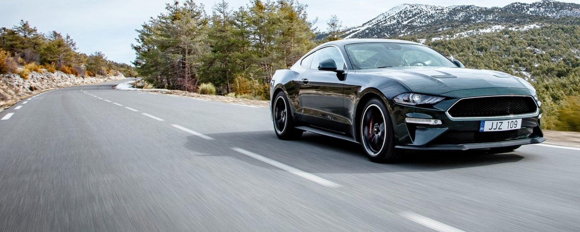 Ford Mustang, in arrivo la versione ibrida 4x4. E forse l'elettrica pura...