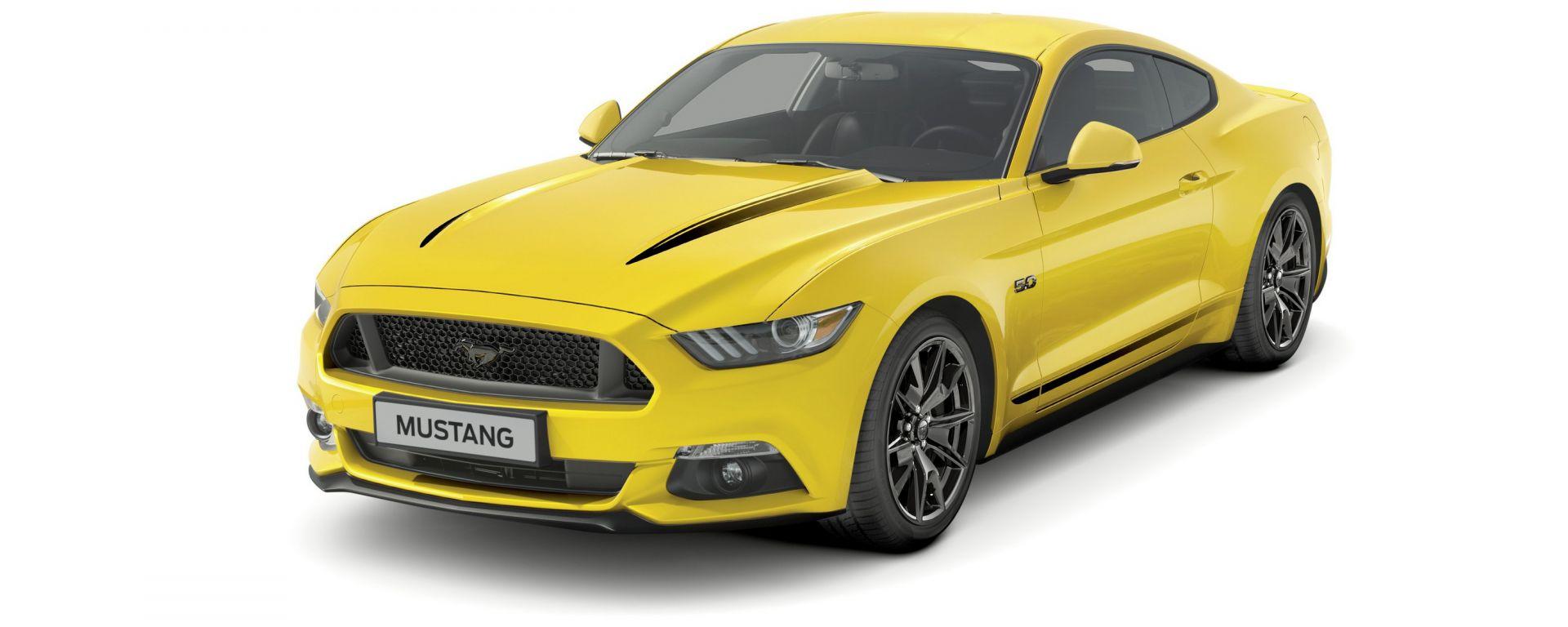 Ford Mustang: la Black Shadow Edition