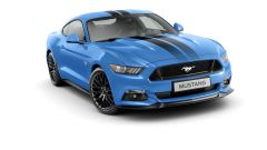 Ford Mustang: la Blue Edition