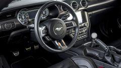 Ford Mustang Mach 1 2021: gli interni, l'abitacolo e il volante