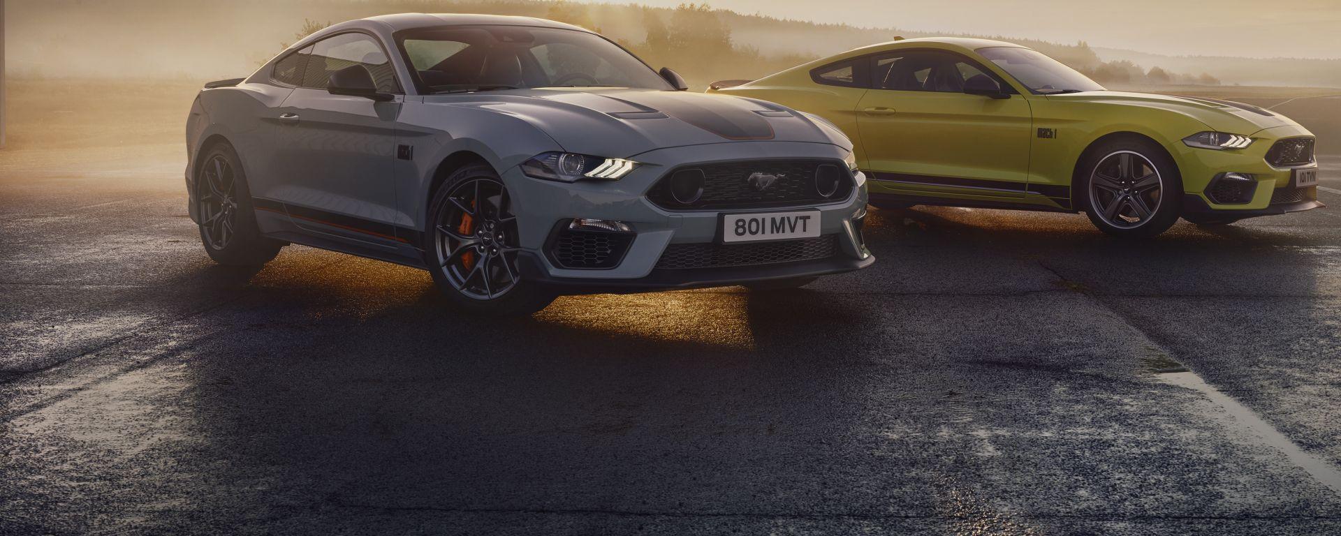 Ford Mustang Mach 1 2021: la più potente di sempre arriva in Europa