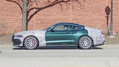 Ford Mustang Mach 1: il prototipo camuffato da Bullitt, vista laterale