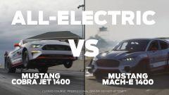 Ford Mustang Mach-E 1400 sfida Mustang Cobra Jet. Video