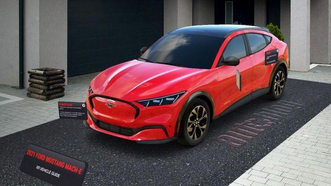 Ford Mustang Mach-E: con la realtà virtuale è già a casa vostra