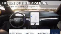 Ford Mustang Mach-E, gli interni