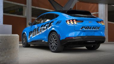 Ford Mustang Mach-e MSP: 3/4 posteriore