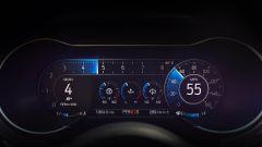 Ford Mustang restyling: il monitor a colori è chiaro e aumenta l'effetto wow