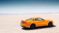 Ford Mustang restyling: lateralmente non ci sono novità