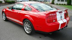 Ford Mustang Shelby GT500: 3/4 posteriore