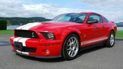 Ford Mustang Shelby GT500: frontale