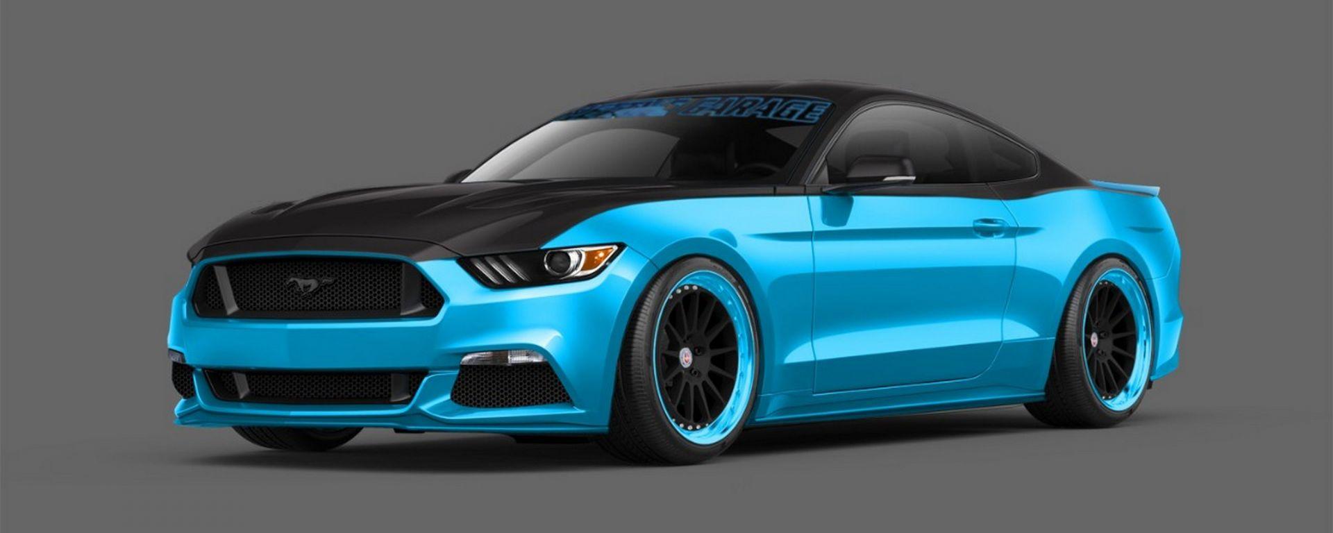Ford Mustang: tuning no limits al SEMA 2014
