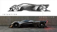 Ford Mustang Vision 001: la bozza e il progetto finale