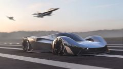 Ford Mustang Vision 001: si ispira, come la progenitrice, agli aerei da combattimento