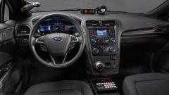 Ford Police Responder Hybrid Sedan: la plancia