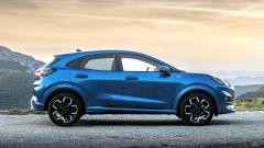 Ford Puma 2020, la fiancata