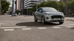 Ford Puma Ecoboost Hybrid con il nuovo cambio automatico a doppia frizione