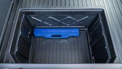 Ford Puma, il pozzetto Megabox nel bagagliaio