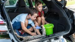 Ford Puma: MegaBox può diventare sabbiera per i giochi dei bambini